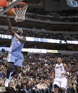 Lawson, Nuggets cruise by defenseless Mavericks 115-93
