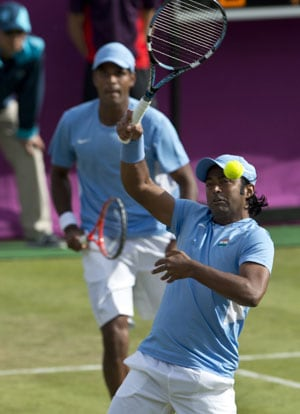 London 2012 Tennis: Leander Paes-Vardhan bow out after a valiant fight