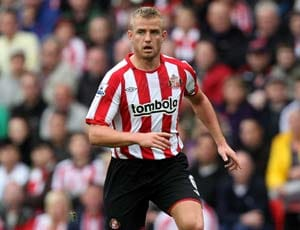 Sunderland men Bendtner, Cattermole arrested