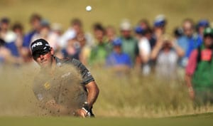 The Open Championship: Lee Westwood takes clubhouse lead
