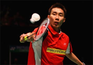 Lee Chong Wei battles to third round of badminton world championships