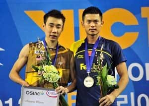 Lee beats foe Lin Dan in Korea Open final