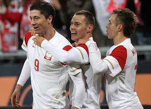 Poland get lucky draw in Group A at Euro 2012