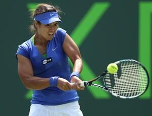 Li Na beats Garbine Muguruza to reach Miami quarterfinals