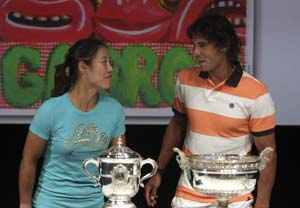 China's Li Na prepares to defend French Open title