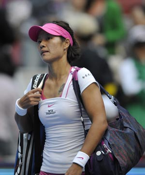 London 2012 Tennis: Li Na crashes out at first hurdle