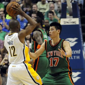 Jeremy Lin leads Knicks past Pacers