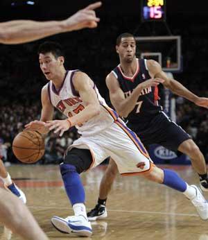 Lin, Knicks rout Hawks 99-82, head to Miami