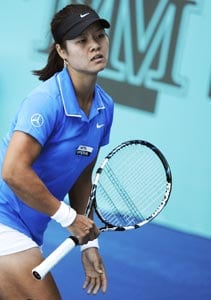 In-form Li Na first into Madrid last eight