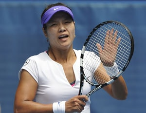 Li Na advances to Shenzhen quarters