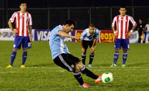 Lionel Messi helps Argentina clinch FIFA World Cup spot
