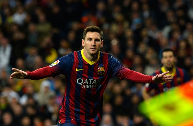 Barcelona F.C. beat Real Madrid C.F. 4-3 after Lionel Messi scores hat-trick