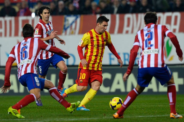 Atletico Madrid, Barcelona remain joint La Liga leaders after draw