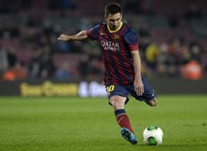 Pain-free Lionel Messi ready for the challenge in 2014