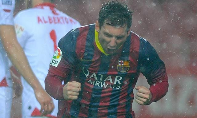 Lionel Messi nets two, Barcelona fight back 4-1 at Sevilla