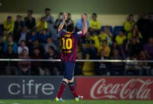 Barcelona F.C. beat Villarreal in an emotionally-charged contest