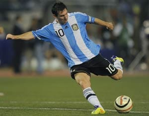 Lionel Messi wary of Bolivian highlands