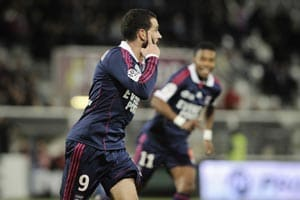 Lisandro brace sees Lyon stop the rot at Auxerre