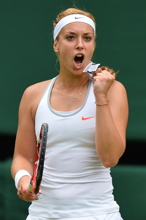 Sabine Lisicki backs up win over Serena with another at Wimbledon