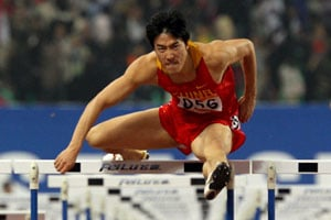 Chinese hurdler Liu Xiang hints London Games his last