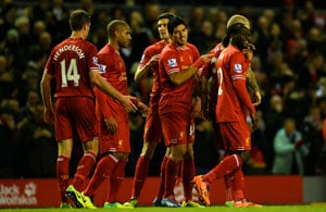 EPL: Luis Suarez scores twice as Liverpool rout Spurs 5-0
