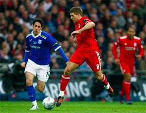 Liverpool beat Cardiff 3-2 on penalty kicks in League Cup final