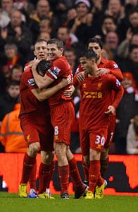 Downing ends drought as Liverpool thrash Fulham