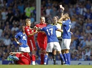Liverpool overcome Everton in heated clash