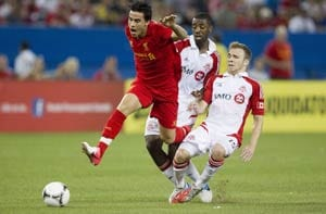 Toronto holds Liverpool to 1-1 draw in friendly