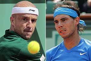 Nadal beats Ljubicic to enter quarterfinals