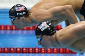 London 2012 Swimming: Lochte bests Phelps in semi-final showdown