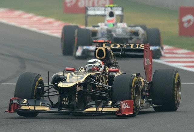 Lotus stick with Renault for 2014 F1 season