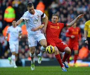 Lucas return will lift Liverpool: Joe Allen