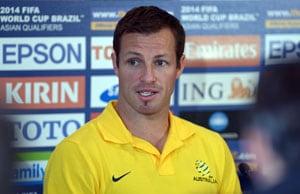 'Nobody's in Brazil yet,' warns Australia football captain Lucas Neill