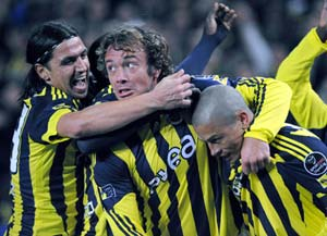 Fenerbahce banned from Champions League