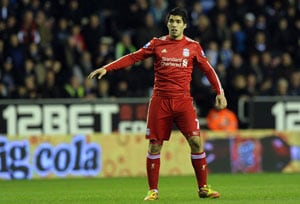 Suarez fails to inspire as Liverpool draw with Wigan