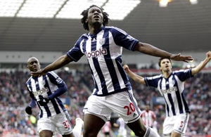 West Brom climb to third, beat Sunderland 4-2