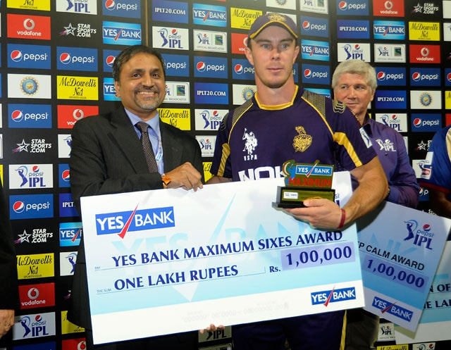 Kolkata Knight Riders debutant Chris Lynn says he was a 'nervous starter'