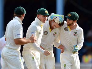 2nd Test: Lyon five-for redeems Australia's advantage vs West Indies