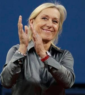 Martina Navratilova hits out at International Olympic Committee over gay rights