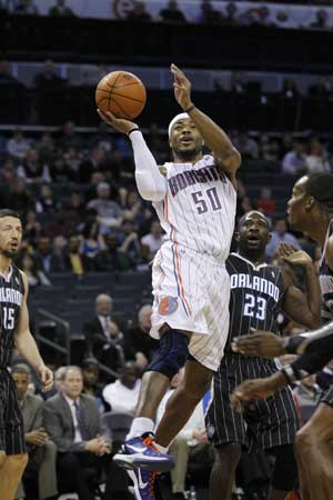 Maggette scores 29 as Bobcats dump Magic 100-84