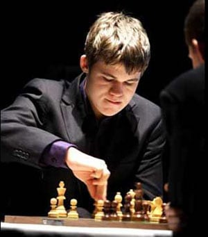 Advantage Magnus Carlsen in world chess duel with Viswanathan Anand