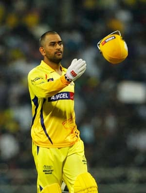 MS Dhoni praises bowlers for Chennai win