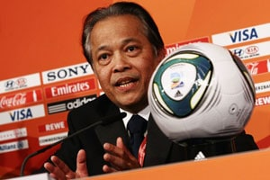 Thailand's football chief denies fraud allegations