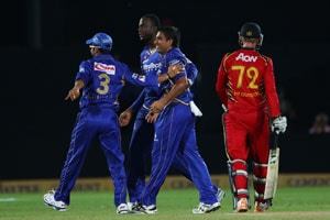 CLT20: As it happened - Rajasthan Royals script 30-run win over Highveld Lions