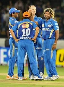 Malinga, Rohit star in Mumbai's win over Chargers
