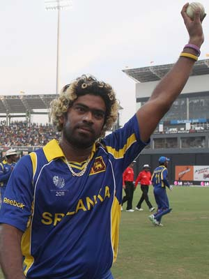Lasith Malinga named World Twenty20 ambassador