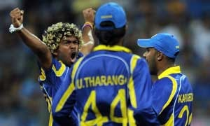 Injury rules Malinga out of T20's versus Australia