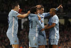 Manchester City feeling pressure at top of EPL