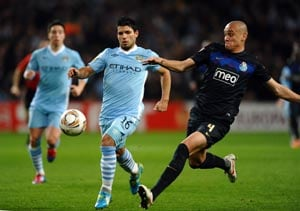 City overpower holders Porto in Europa League